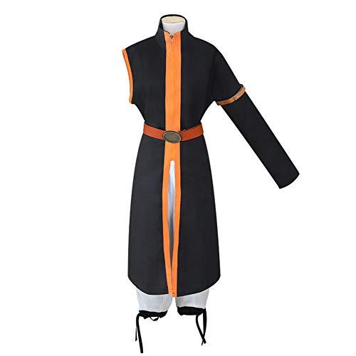 Fairy Tail Natsu Orange & White Full Set Costume