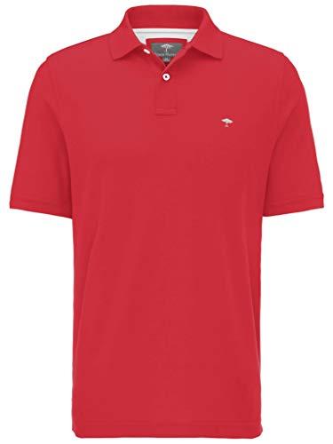 FYNCH-HATTON Basic Poloshirt aus Piqué aus Reiner Baumwolle, Sangria 366, S