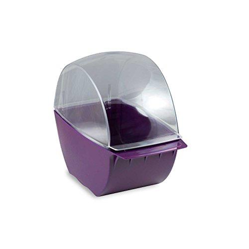 Distributeur de cotons cellulose Violet de cellulose tupfer Pads