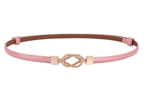 Oyccen Cinturones Finos de Mujer Vestido Ajustable Cinturón de Cuero Correa de Cintura