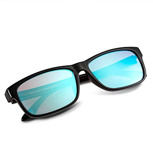 PILESTONE TP-024 (Tippe A) farbenblinde gläser Color Blind Korrekturbrille für rote/grüne Farbenblindheit - Mildes, mäßiges und starkes Deutan und mildes, mäßiges Protan