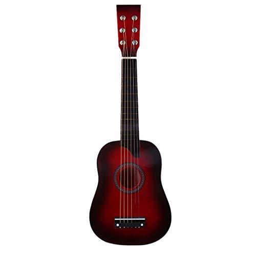 ALLESOK Spielzeug Gitarre für Kinder, 25 Zoll 6 Saiten Musical E-gitarre Holz Musikinstrument Spielzeug für Anfänger