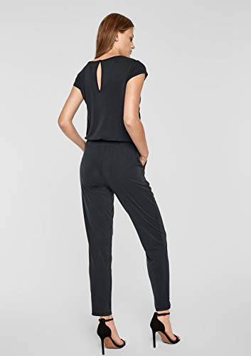s.Oliver BLACK LABEL Damen Jumpsuit, Schwarz - 5