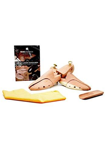 SHOEPASSION - Premium Schuhspanner aus 100% kanadischem Zederholz - Schuhspanner -, Farblos, 46/47