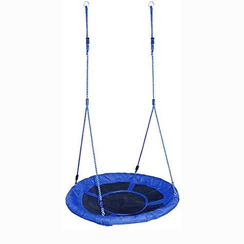 ROLLDC Swing Oxford Cloth Kinderschaukel Vogelnestschaukel Indoor Outdoor beweglicher Stuhl Wiege Swing (Farbe: blau)
