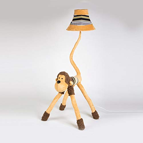 EIU Kids Cartoon vloerlamp voor de woonkamer slaapkamer babykamer leuke staande lamp kort staande lamp, 130cm M20-02-17