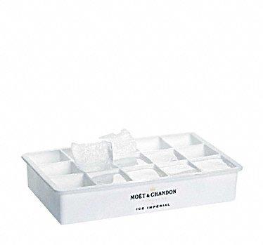 Moët & Chandon Ice Impérial Eiswürfelbereiter Form für Champagner Eiswürfel mit Moet Aufdruck