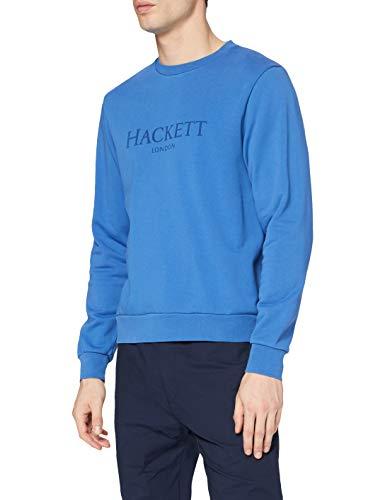 Hackett London Hackett LDN Crew Jersey, Azul Marino, XS para Hombre