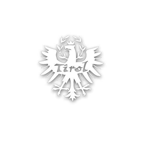 Tirol Heimat Wappen Adler Tiroler Wappen Wappentier Südtirol 15 x 15 cm #A5250