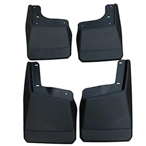 4 Uds guardabarros de coche para HUMMER H2 2009-2003 guardabarros de coche Abs Flap guardabarros delantero trasero guardabarros accesorios