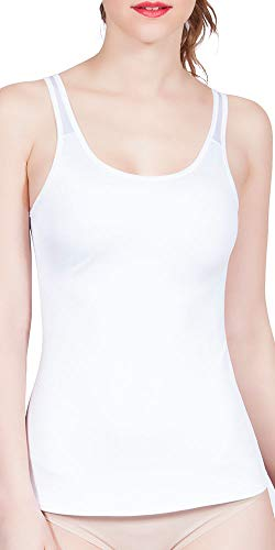 BODY CONTROL 2610 Invisible Miracle Molded Top (White, S)