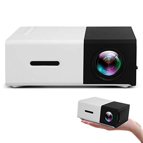 Mini-projector HD 1080P Draadloos Draagbaar Zakformaat, Geschikt Voor Cadeaus Voor Kinderen, Compatibel Met Tv-telefoons USB SD AV HDMI, Thuisbioscoop En Buitenspeelgoed Voor Kinderen