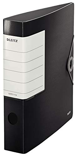 Leitz 11130095 Multifunktions-Ordner Solid (A4, 2-fach-Lochung) schwarz
