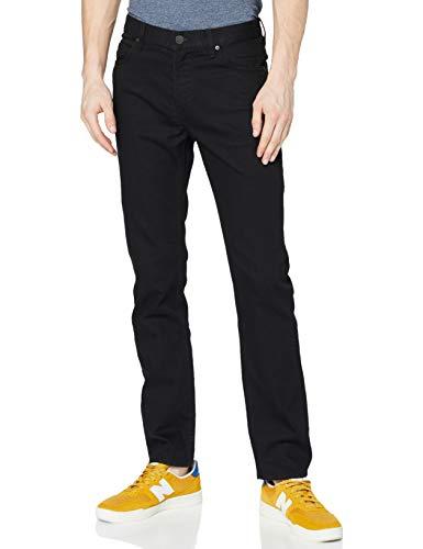 Lee Herren Rider Tonal Jeans, Schwarz (Black Rinse 47), 38W / 34L