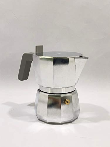 Alessi DC06/3 Cafetera expreso, aluminio