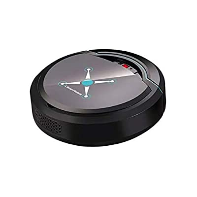 dezirZJjx Robot Vacuum Cleaner,Automatic Smart Auto Cleaner Robot Home Rechargeable Suction Dust Sweeper,Good for Pet Hair, Carpets, Hard Floors
