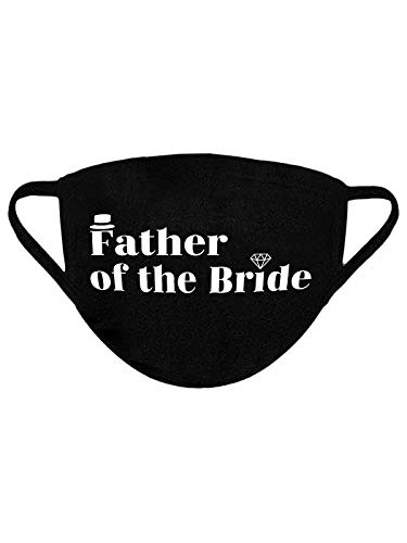wedding face mask for father of the bride