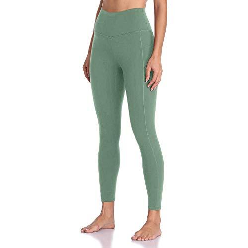 jieGorge Pantalones de Yoga, Mujeres Cintura Alta Yoga Yoga Leggings Running Gym Stretch Pantalones Deportivos Pantalones, Pantalones de Mujer Sales AG X-Large
