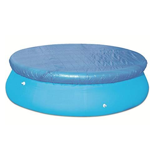 Newin Star Runde Pool-Abdeckung wasserdichte Pool-Mate-Sandstein-Winter-Pool-Abdeckung Regendicht Staub für Aufstellbecken 183cm