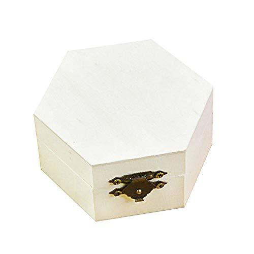 Depory Caja de Madera para Guardar Joyas, Madera Caja Regalo ,multifunción