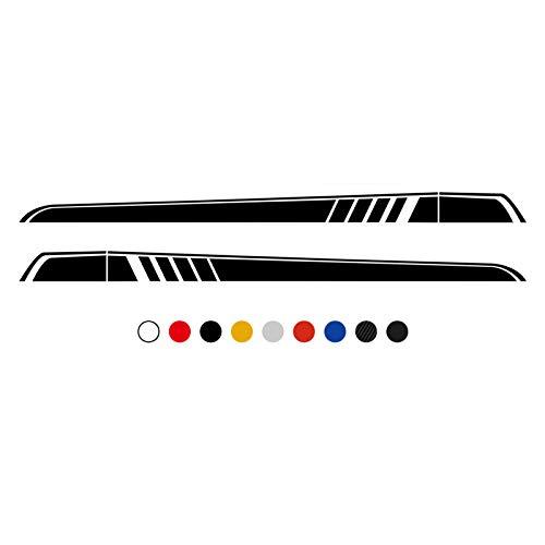 Yccmi Autotür Seitenrock Aufkleber Aufkleber, Fit für Mercedes Benz Vito Viano V Klasse W447 W639 V260 2014-2019