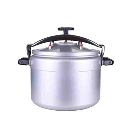 Zjcpow ZBINGAFF Pressure cooker, commercial pressure cooker, aluminum alloy large-capacity pressure cooker, household multi-function pressure cooker, fast cooking pressure cooker 15-50L xuwuhz