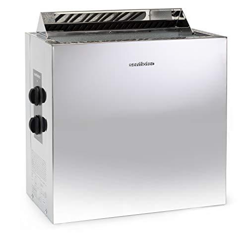 Sentiotec Nordex Style 6/8/9 kW Saunaofen mit integrierter Steuerung (9 kW)