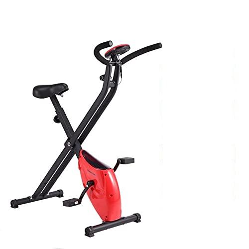 DJDLLZY Bicicletas de spinning bicicletas, ejercicio, cubierta Ciclismo Bicicleta estática, volante magnético, resistencia magnética, 3-Piece Crank, for el hogar cardio del gimnasio con asiento cómodo