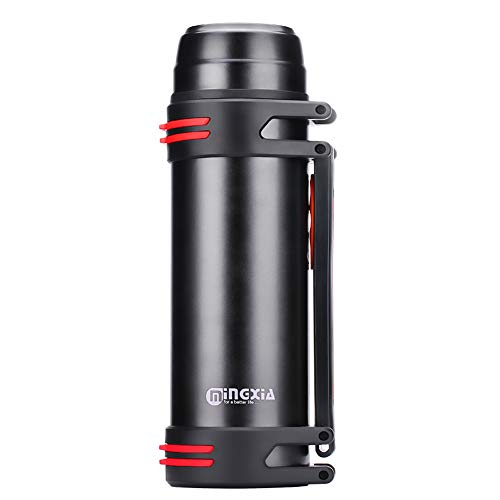 Yaunli Thermos kopjes Draagbare Thermo Cup Roestvrij Water Flask 1,2 L thermoskan kopjes reizen