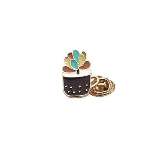 Mijn Droom Dag Accessoires Stijl Bloem Pot Creatieve Badge Cactussen Bloempotten Glanzende Mode Mooie Broche Pinnen Backs Mode