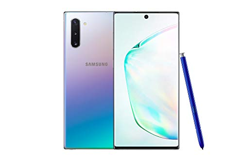 Samsung Galaxy Note10 Dual-SIM 256 GB 6.3-Inch Android Smartphone - Aura Glow (UK Version)