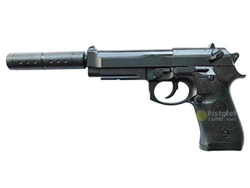 Ghost Airsoft Devil -Pistola para Airsoft,con Muelle,de Recarga Manual (0,5 Joule)