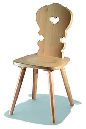 Landhausstuhl Holzstuhl Sessel Stuhl Stühle Hocker Bauernstuhl
