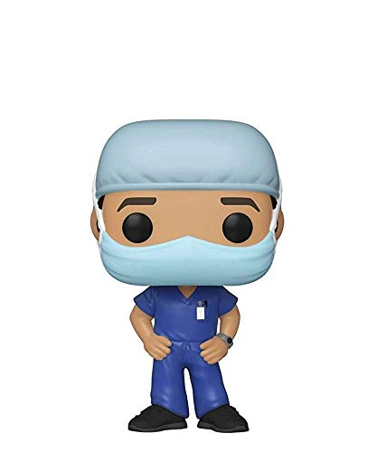 Popsplanet Funko Pop! Front Line And Hospital Heroes - COVID19 - Frontline Heroes (Male #1)