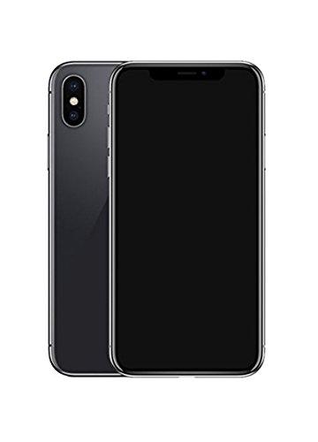 Dummy-Display gefälschte Telefon Metallic-Modell nicht funktionierende Replik Telefon für Phone X 10 (Grau Schwarz-Bildschirm)