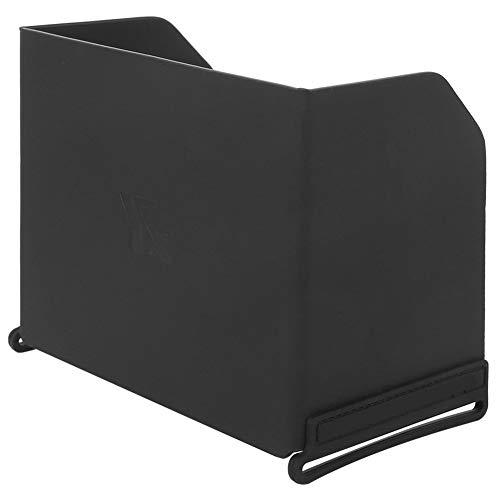 Socobeta - Cappa da sole per cellulare, in silicone stampato ad alta qualità, con rivestimento in pelle sintetica pressata a caldo, colore: Nero per telecomando Drone (L121)