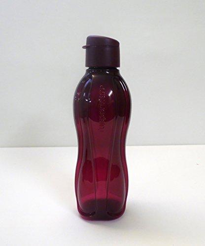TUPPERWARE EcoEasy To Go Trinkflasche Eco Ökoflasche Flasche 750 ml brombeer