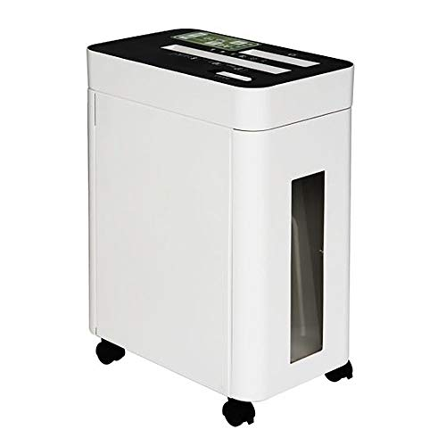 Great Price! Dertyped Electric Paper Shredder High Power Shredder Electric Small Office Home Mute Fi...