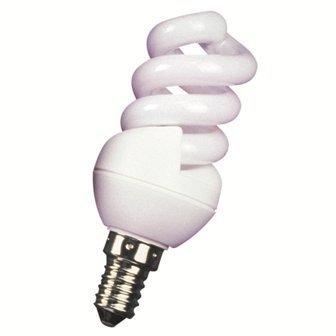 60W lumière du jour 6500K lampe d'économie d'énergie ampoule Mini spirale E14PAC longue durée de vie Lampe 11W = 60W x 2