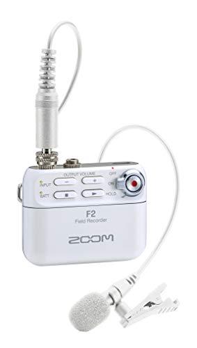 ZOOM ズーム - 32bitフロート録音対応 フィールドレコーダー F2 ホワイト