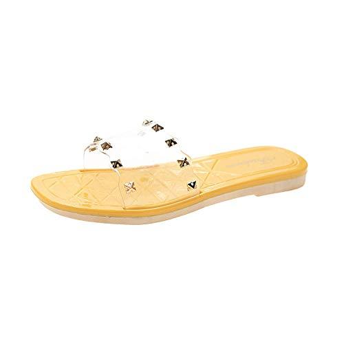 Zapatillas de Senderismo Camper Deportivas,Deportes Sandalias al aire libre Piscina Piscina Controladores Flip Flops Zapatos Casuales Viajes Playa Playa Playa Playa Playa La palabra Drag-amarillo_39