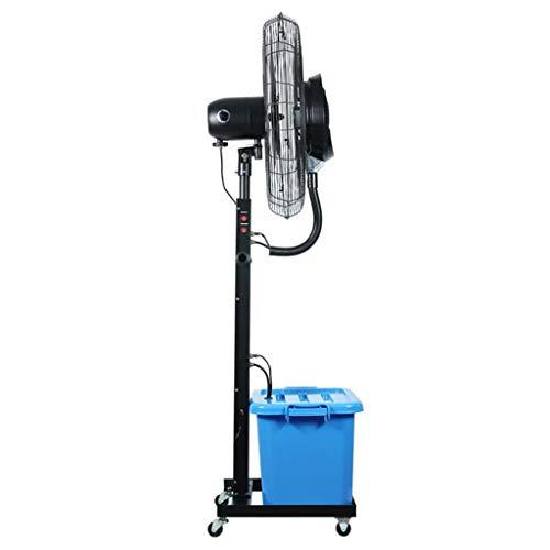 Ventiladores Pulverizador de Piso de aspersión Ventilador de bocina de Pedestal de atomización Industrial Humidificador oscilante Grande Enfriador de Aire de enfriamiento con características de nie