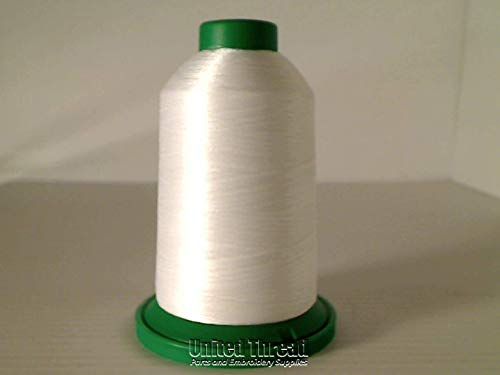 Check Out This Isacord Embroidery Thread, White Thread 5000M color 0015