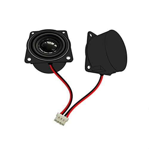 Wnuanjun 2 stücke 40mm Full Range Lautsprecher 4Ohm 3W 1,5 Zoll Hohlraum Lautsprecher mit Kabel für Multimedia Lautsprecher Werbemaschine Deep Bass (Größe : 1.5
