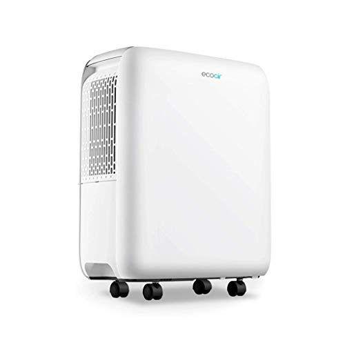 EcoAir DC12 MK2 Dehumidifier | 11L/Day | 24 Hour Timer | Continuous Drainage | Digital Display | Laundry Drying | 1.7L Water Tank | Mould Damp Condensation Control | 2 Year Warranty