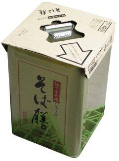 めんつゆ専用しょうゆ そば膳 18L /ヒゲタ醤油(1缶)