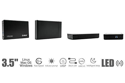 ORICO 2.5TB Desktop Externe Festplatte, 3.5