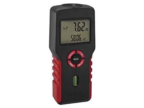 Medidor de distancia por ultrasonido, medidor de distancia, cálculo de superficies, LCD