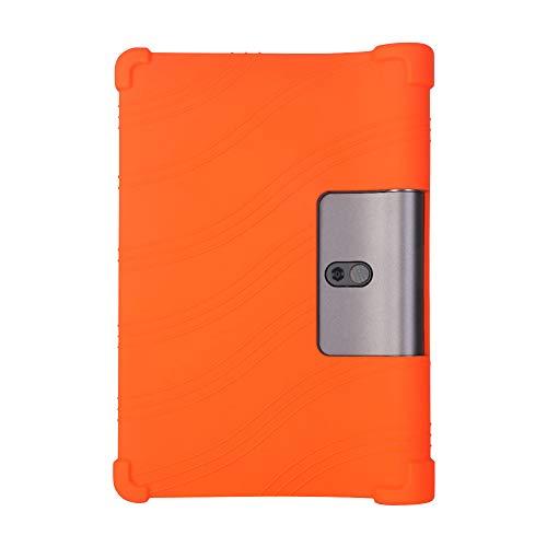 Yudesun Funda para Lenovo Yoga Smart Tab/Yoga Tab 5 - Silicona Suave Soporte Bolsa Ligero Caucho Fundas Blandas Protector para Lenovo Yoga Smart Tab/Yoga Tab 5 YT-X705F 10.1 Pulgada 2019 Tablet