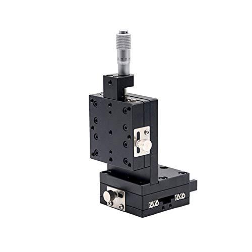 Hensdd XZ Handmatige Lineaire Slide, Fine-Tuning Handmatige Lineaire Staat, Micrometer Precisie Lineaire Vertaling Trimming Platform, 60X60mm